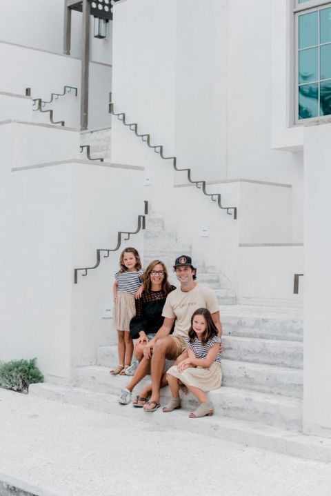 Alys Beach family photos, modern family photos, Fall in Alys Beach